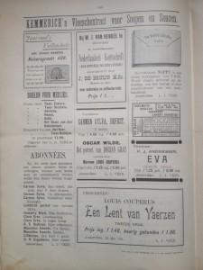 Advertentiepagina 11 oktober 1893