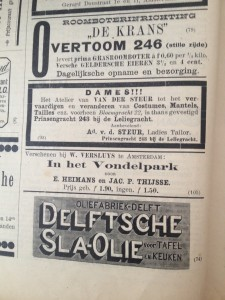 Grasroomboter en Delftsche Sla-Olie