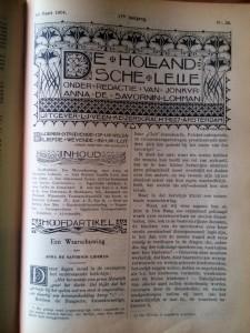 Hoofdartikel 'Een Waarschuwing', 16 maart 1904, p. 1