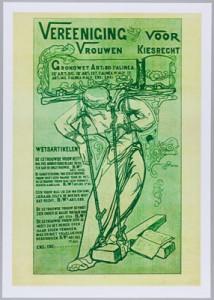 Affiche van de Vereeniging (dossier Atria)