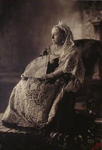 Koningin Victora, ter gelegenheid van haar diamanten jubileum juli 1893 (Getty)