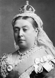 Koningin Victoria, portret door Alexander Bassano