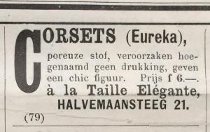 Advertentie 11 juli 1900