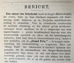 De Hollandsche Lelie 3 oktober 1900