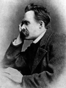 Nietzsche in 1882 (via Wikipedia)